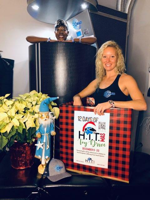 Delray beach cryotherapy hit corp event 08